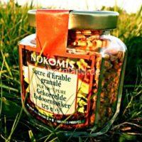 Granulierten Ahornzucker 125 g