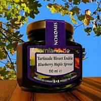 Blaubeere Brotaufstrich von Ahorn sirup 110 ml