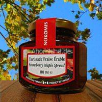 Erdbeere Brotaufstrich von Ahorn sirup 110 ml