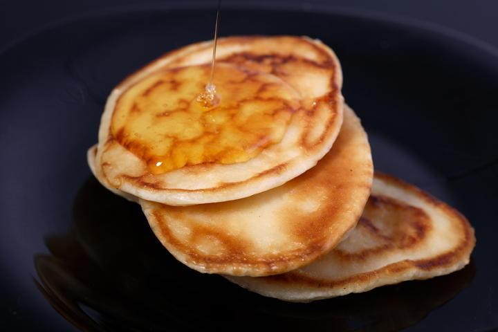 Amerikanische Pfannkuchen aus Buttermilch